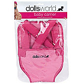 Dolls World Baby Doll Carrier
