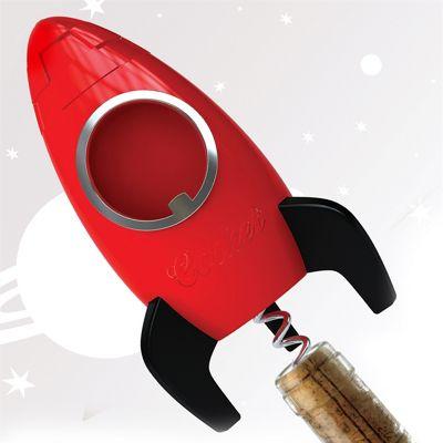 Corket - Rocket Bottle Opener and Corkscrew
