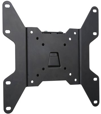 Black Flat Fixed LCD Wall Mount Plate 15 inch - 40 inch TVs