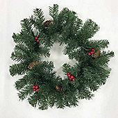 Meribel 45cm Decorated Christmas Wreath - Medium