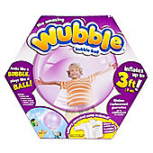 Amazing Purple Wubble Bubble Ball With Pump - A bubble You Can Play With!