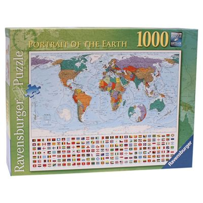 Buy ravensburger portrait of the earth 1000 piece jigsaw puzzle from ravensburger portrait of the earth 1000 piece jigsaw puzzle gumiabroncs Images