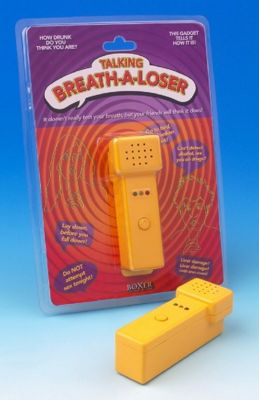 Zappies Breath-a-Loser the Joke Breathalyser