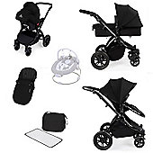 ickle bubba Stomp V2 All in One Travel System - Black (Black Chassis)