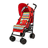 Mothercare Baby Nanu Plus Stroller Buggie- Red Stripe