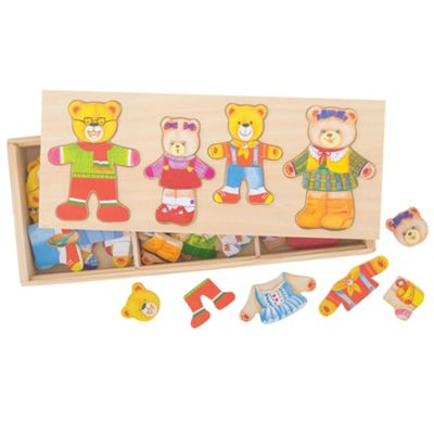 Bigjigs Toys Dress Up Bear Family