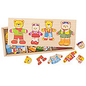 Bigjigs Toys Dress Up Bear Family
