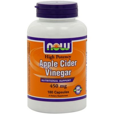 Buy Now Apple Cider Vinegar 450 mg 180 Capsules from our