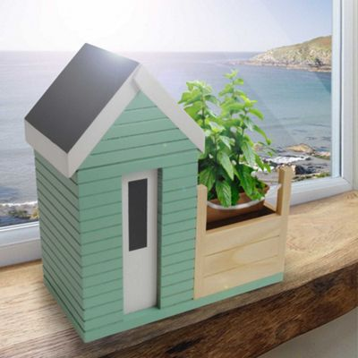 Beach Hut Planter Gift Set