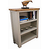 Aspen Painted Oak Bookcase / Sage Grey Small