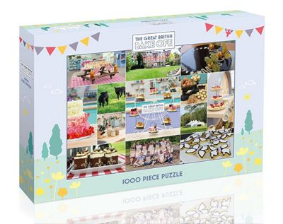 Gibsons Great British Bake Off Jigsaw Puzzle 1000 Piece