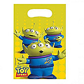 Toy Story Star Power 6 Pack Loot Bag Plastic Party Accessories