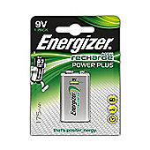 1 x Energizer 9V PP3 Block Rechargeable Battery 175 mAh