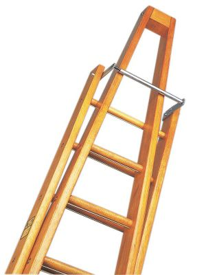 Trade 3m (9.84ft) Timber Single Window Cleaning Ladder