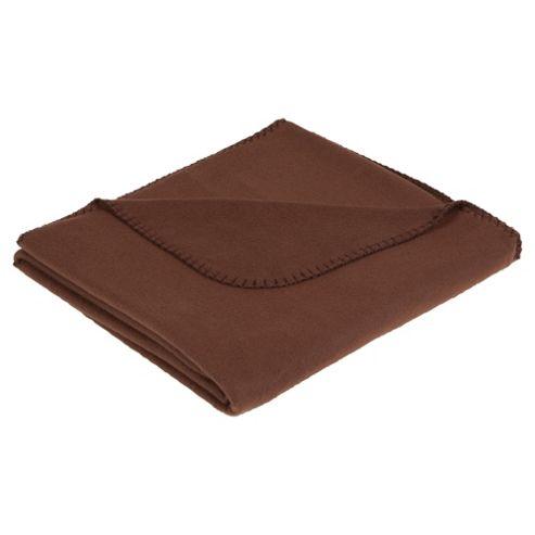 Tesco Value Fleece Chocolate