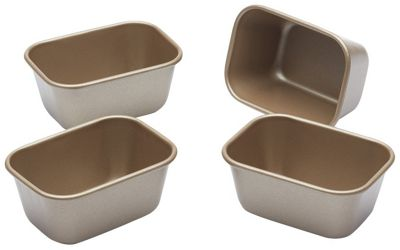 Paul Hollywood Mini Loaf Tins 4 Piece Non-Stick PHMINILOAF