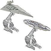 Hot Wheels Star Wars Die Cast Vehicle 2 Pack -Star Destroyer Vs. Mon Calamari Cruiser