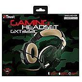 Trust GXT 322C Binaural Head-band Green headset
