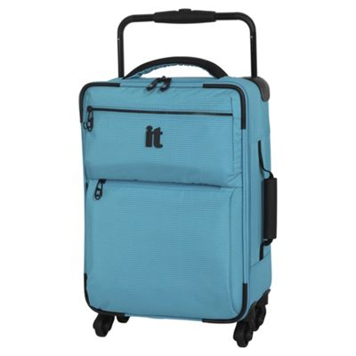buy it luggage worlds lightest cabin 4 wheel turquoise. Black Bedroom Furniture Sets. Home Design Ideas
