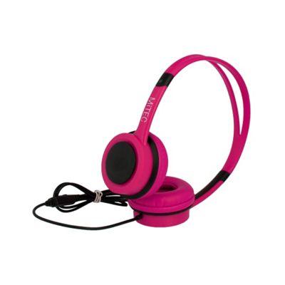 MiTEC Easy Headphones Pink