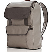"""Lenovo Casual Carrying Case (Backpack) for 39.6 cm (15.6"""") Notebook - Beige, Brown"""