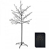 1.5m Battery-Operated 96 LED Cherry Blossom Tree - Warm White