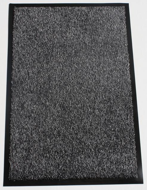 Dandy Washamat Anthracite Mat - Runner 60cm x 180cm