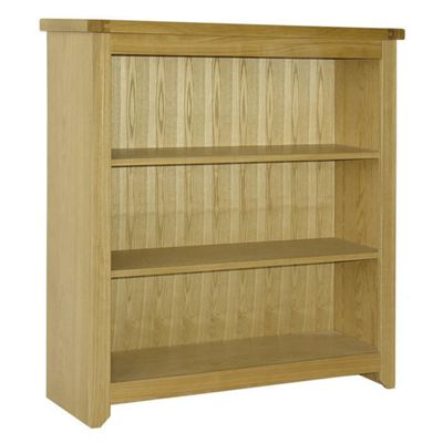 Home Essence Hamilton Low Bookcase in Natural Ash
