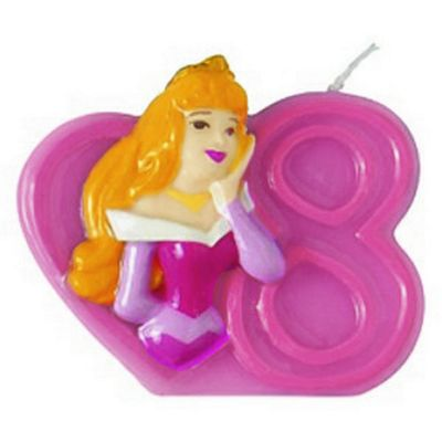 Disney Princess 8th Birthday Candle