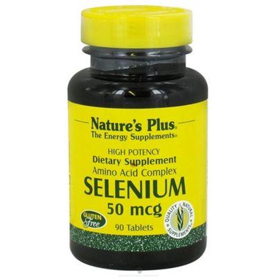 Nature's Plus Selenium 50mcg 90 Tablets