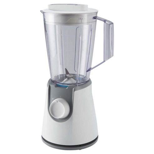 Tesco Blender, 400W, 1.5L - White