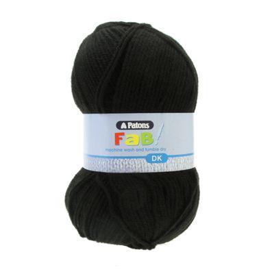 Patons FaB DK Yarn 100g - Black