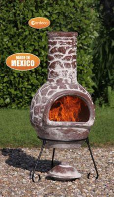 Large Cantera Mexican Chimenea