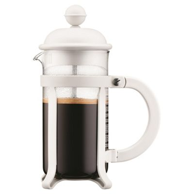 Bodum Java 0.35L Cafetiere Coffee Maker, Off White