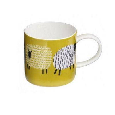 Ulster Weavers Dotty the Sheep Porcelain Straight Sided Mug 8DTS65