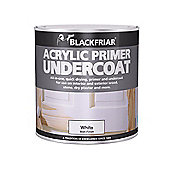 Blackfriar BKFGAP1L 1 Litre Quick Drying Acrylic Primer Undercoat - Grey