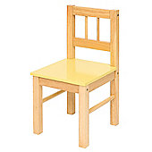 Bigjigs Toys Wooden Chair (Pastel Yellow)
