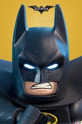 Lego Batman Close Up Poster 61x91.5cm