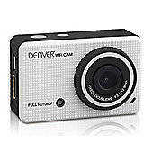Denver White ACT-5020TW HD Action camera with Screen & Phone App