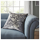 Fox & Ivy Jardin Silhouette Floral Cushion