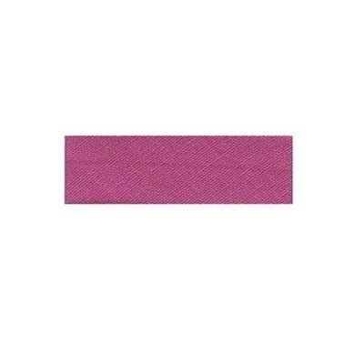 Essential Trimmings Polycotton Bias Binding, 2.5m x 12mm, Dark Rose