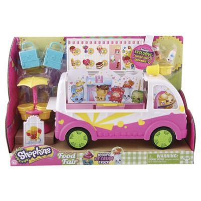 Shopkins Ice Cream Truck Playset