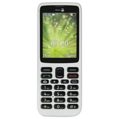 Tesco Mobile Doro 5516 White