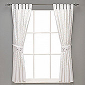 Silver Cloud Curtains & Tie Backs (Counting Sheep)