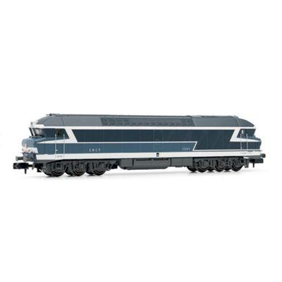ARNOLD HN2386S Diesel Loco CC72000, blue, road number plates, w/ Sound N Gauge