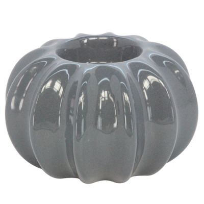 Grey Urchin Tea Light Holder