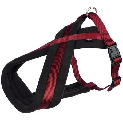 Trixie Premium Touring Dog Harness - L-XL - Bordeaux