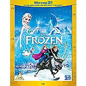 Frozen 3D + 2D BD