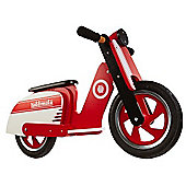 Kiddimoto Scooter (Red/White)