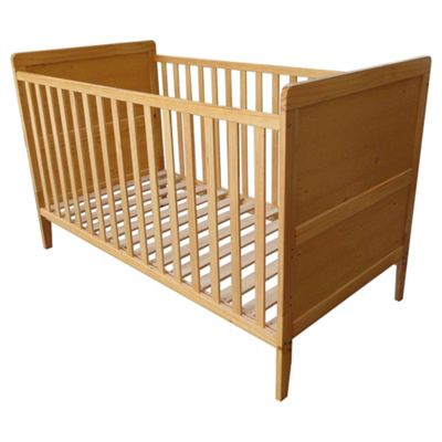 Tesco Cot Bed, Natural